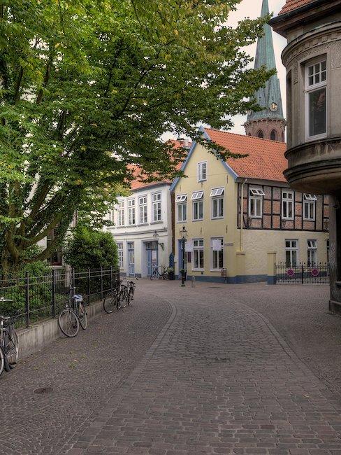 Oude binnenstad in Oldenburg