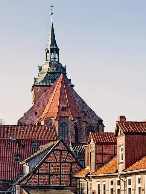 St. Michaelis Kirche in Lüneburg.