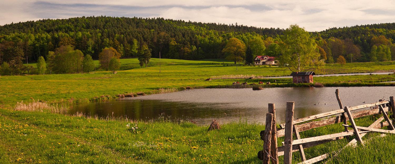 Sehenswerte Landschaft in Worpswede