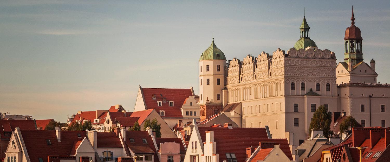 Über den Dächern von Stettin