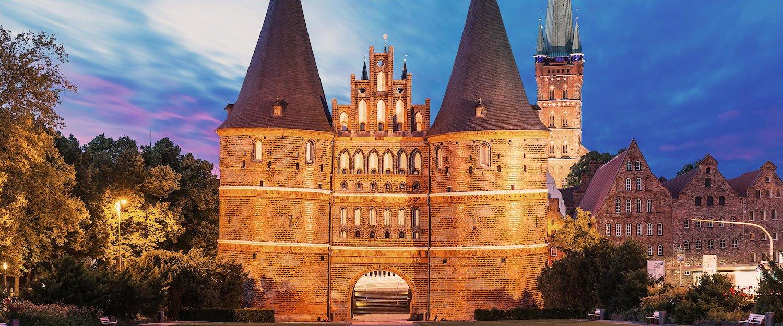 The Holstentor in Lübeck