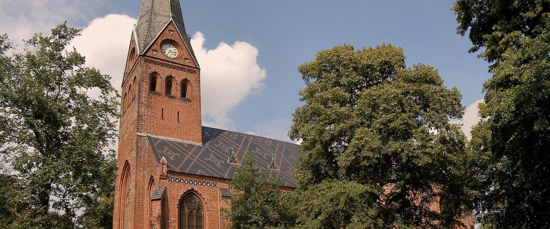 De kerk Malchow
