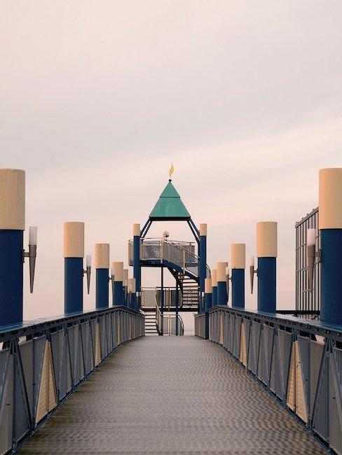Die Seebrücke in Norddeich