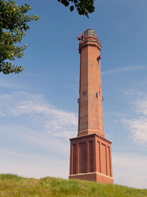 Der Große Norderneyer Leuchtturm, das Wahrzeichen der Insel