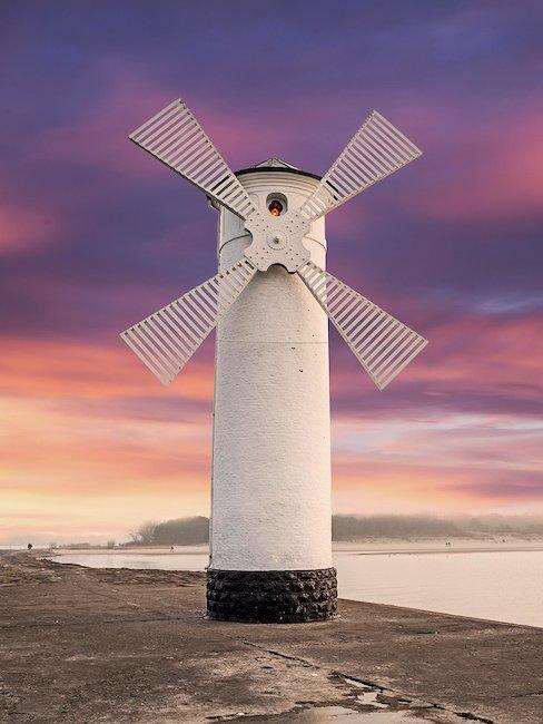 Die Windmühle von Swinemünde