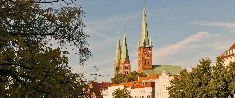 Stadtansicht Lübeck