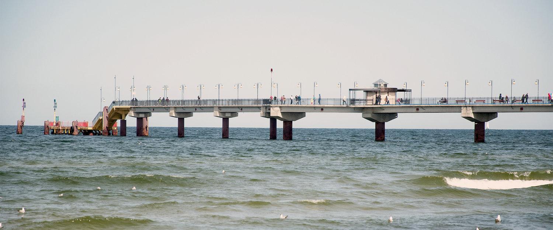 Ideale Lage am Meer in Miedzyzdroje