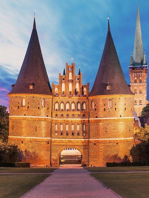 Een van de hoogtepunten van deze regio: de stad Lübeck.