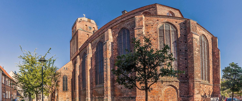 Gotische St. Petri-Kirche in Wolgast