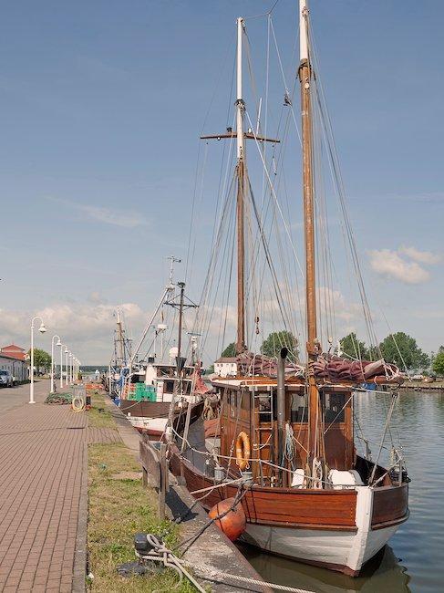 Segelboote im Hafen von Karlshagen