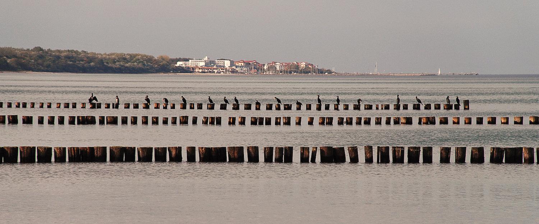 Blick von Heiligendamm an der Ostsee