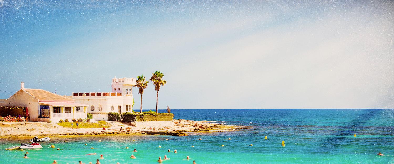 Strand nær Torrevieja