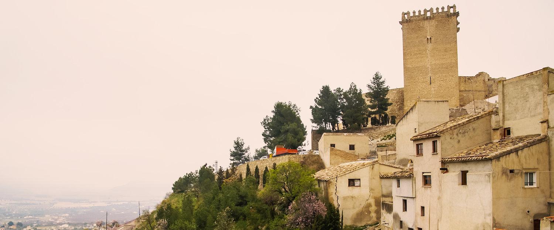 Torre en los montes de Moratalla
