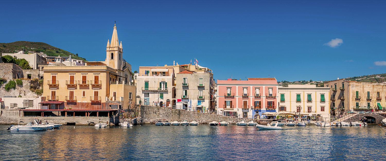 Sehenswerte Altstadt von Lipari