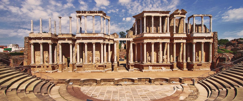 El fabuloso Teatro romano de Mérida