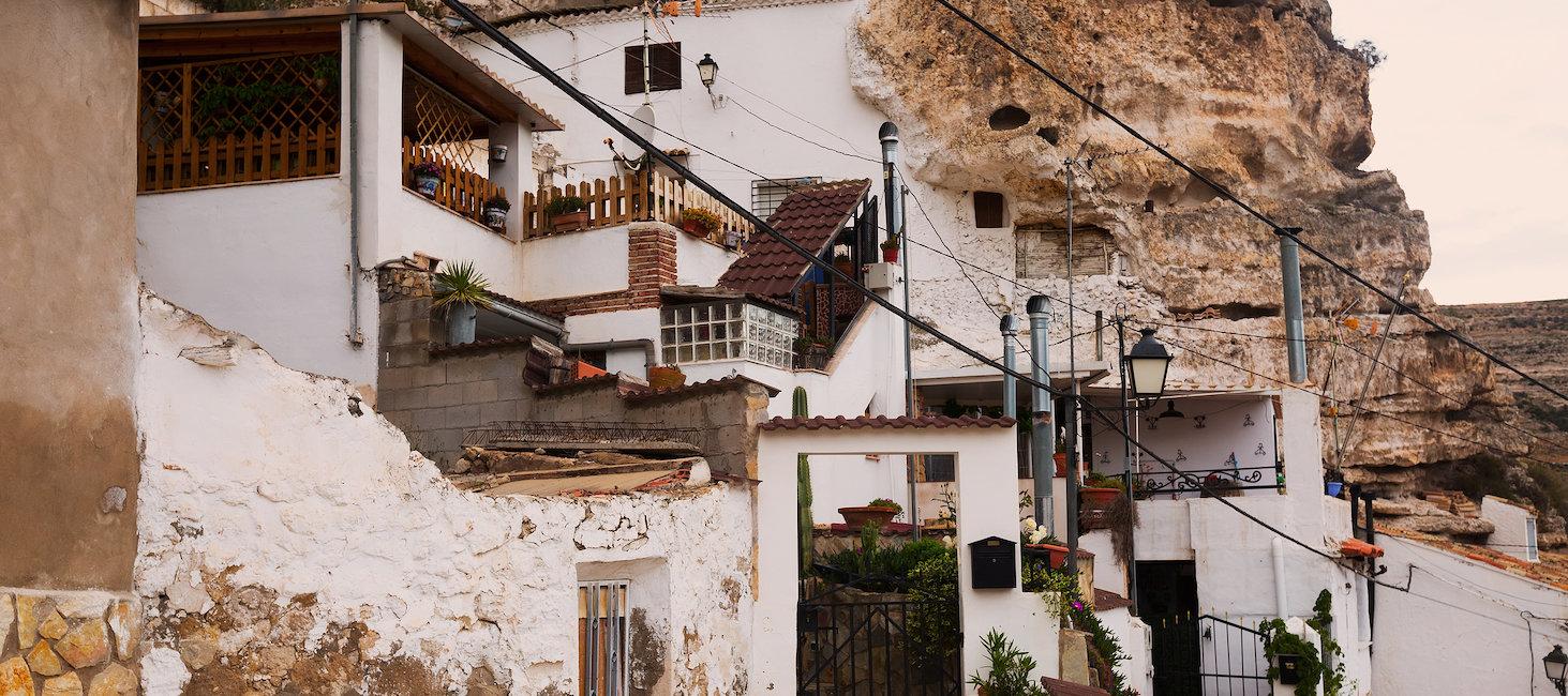 Casa en la roca de Albacete
