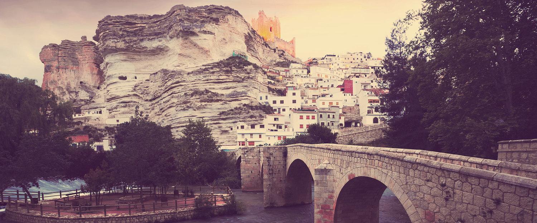 El puente romano de Alcalá del Júcar