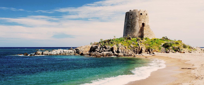 Playa de Bari Sardo en Cagliari