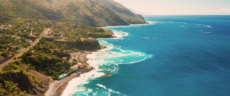 Panorama costiero.