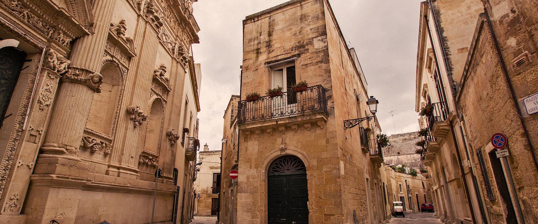 Centro storico di Lecce.
