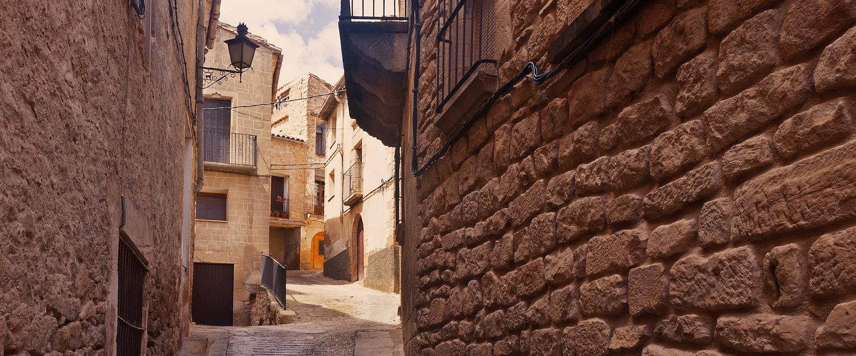 Calles estrechas y empinadas