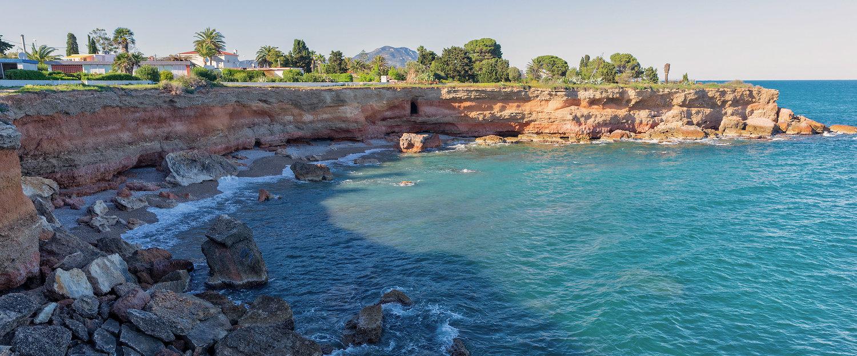 Costa de Vinaroz en Castellón