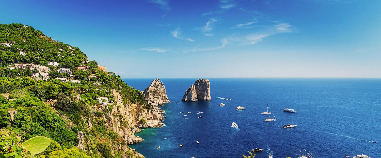 Apartamentos y alquileres vacacionales en Isla de Capri