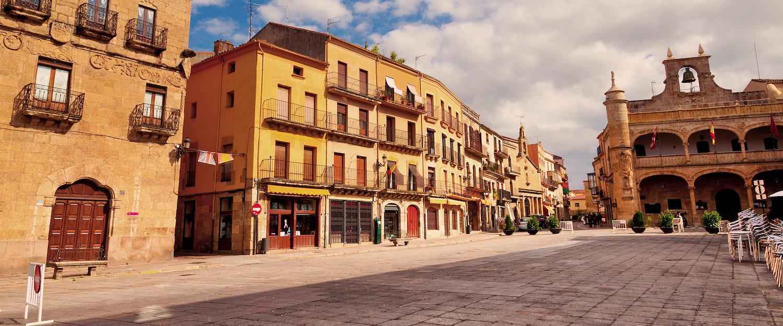 La Plaza mayor de Ciudad Rodrigo