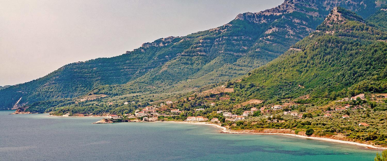 Wonderful mountain landscape in Greece