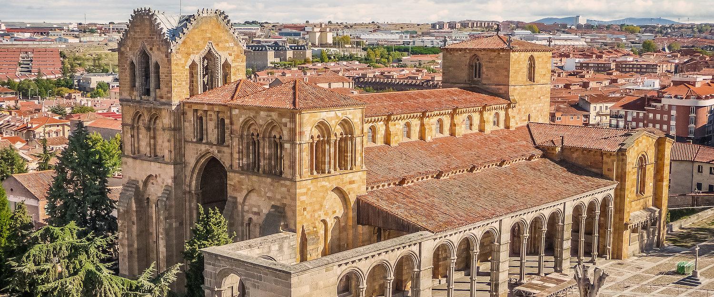 La preciosa Basílica de San Vicente