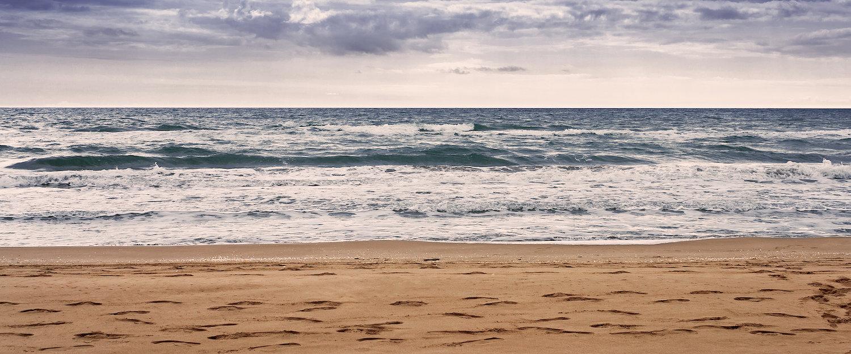 Playa de Riumar en Deltebre