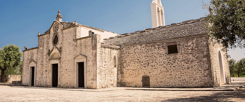 Die Kirche der Muttergottes von Ibernia in Cisternino