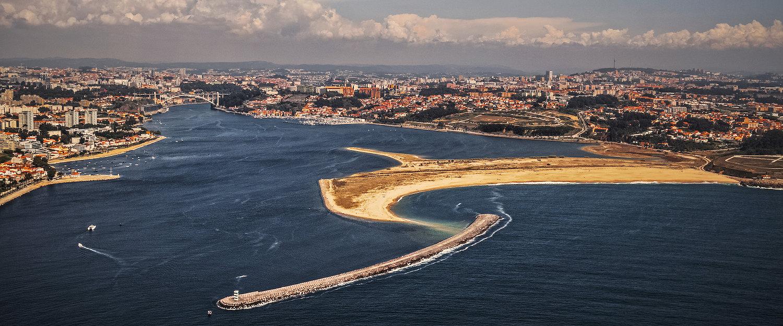 Praia nas Imediações de Vila Nova de Gaia