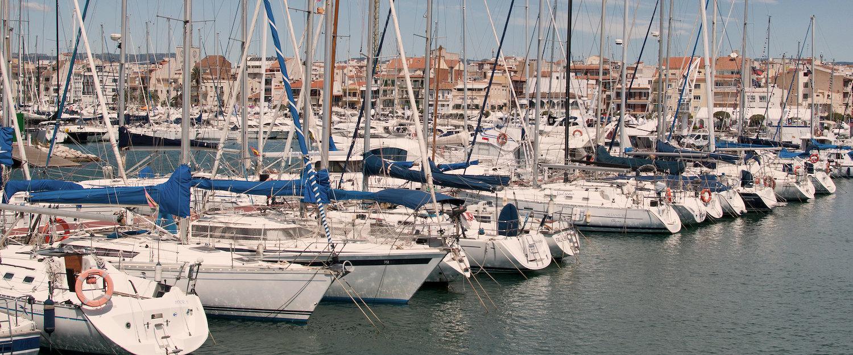 Der Hafen von Cambrils