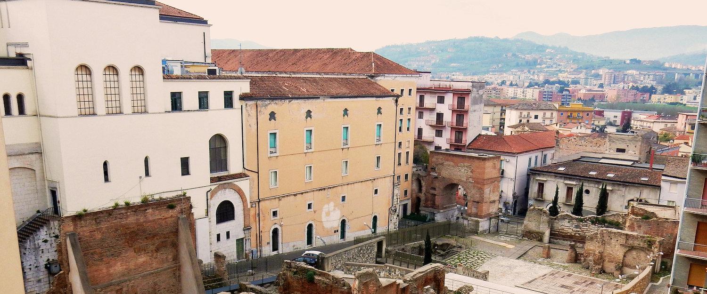 Zona archeologica di Benevento.
