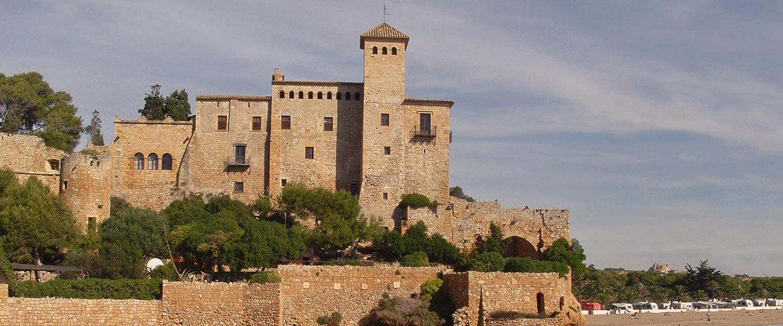 El castell de Tamarit, muy cerca de Torredembarra
