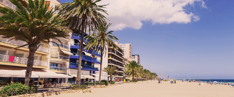 Casas a pie de playa en Calafell