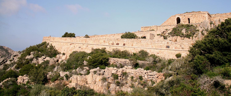 Festung auf La Maddalena