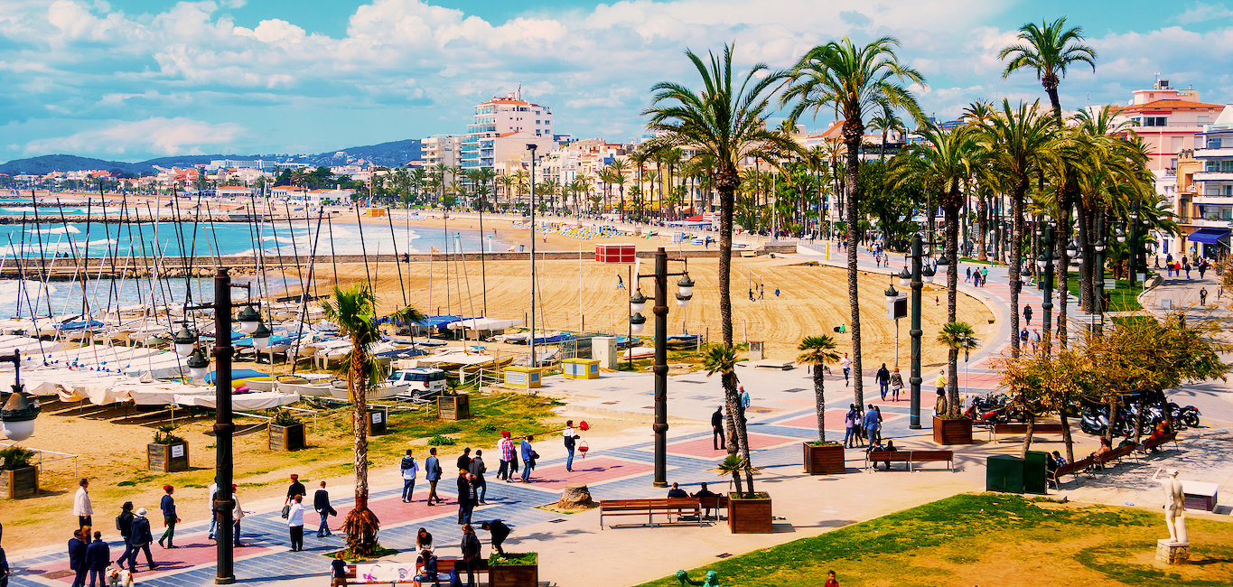 Beach of Sitges