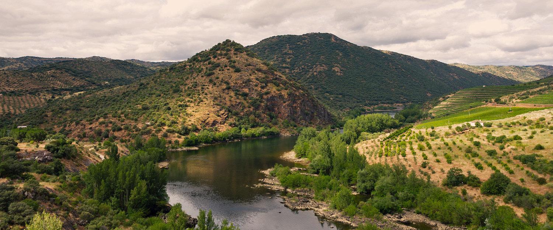 Impresionantes vistas panorámicas del río Duero