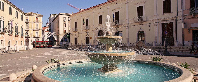 Piazza XX Settembre, Foggia.