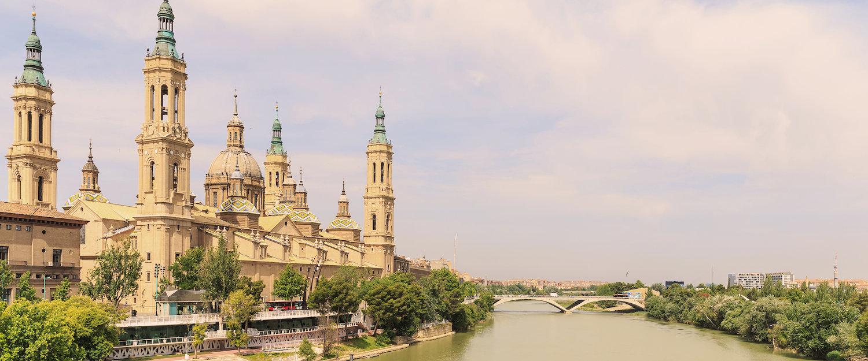 Cúpula principal de la Basílica del Pilar
