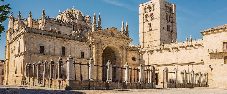 La preciosa catedral de Zamora