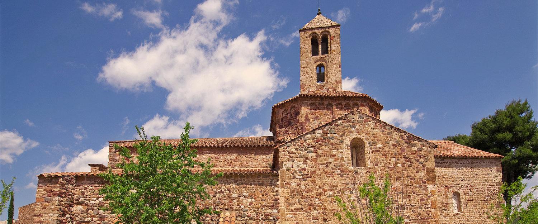 Una iglesia en Cataluña