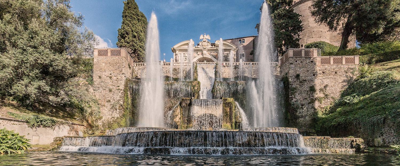 Fontana di Nettuno, Villa Deste.