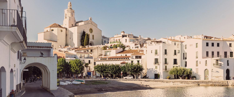 Mediterrane Altstadt von Cadaques