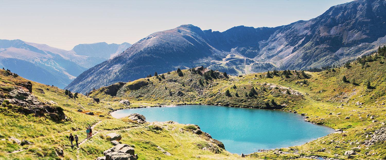 El paisaje de los pirineos