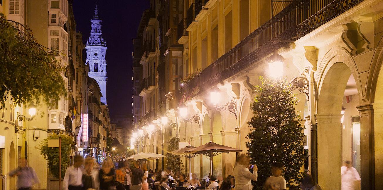 Calle mayor de Logroño