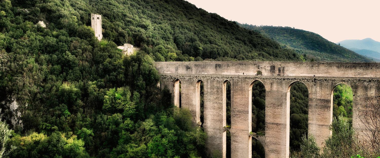 L'acquedotto di Spoleto.