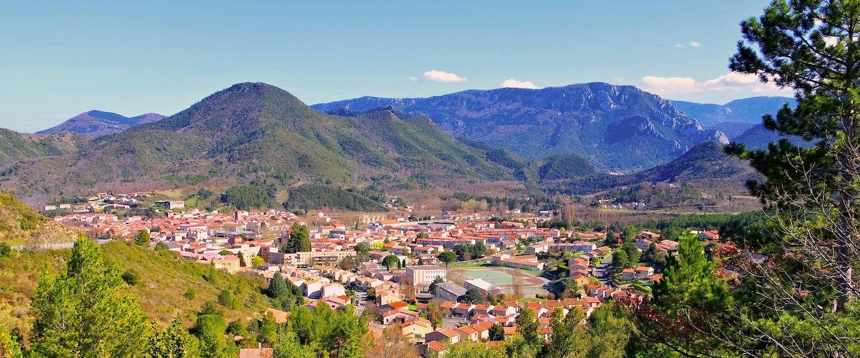 Village de montagne, Aude
